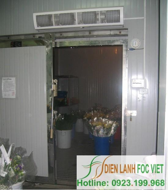 lắp đặt kho lạnh bảo quản hoa tươi