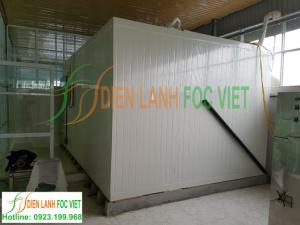 Lắp đặt kho lạnh bảo quản tảo xoắn tại Nghệ An