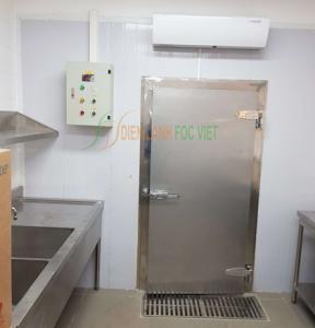 Lắp đặt hệ kho lạnh bệnh viện quốc tế