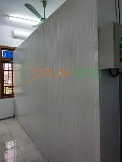 thi công kho lạnh bảo quản rác thải y tế