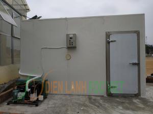 Thi công kho lạnh bảo quản rác thải y tế tỉnh Phú Thọ