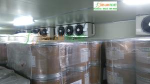 Kết cấu hệ kho lạnh công nghiệp